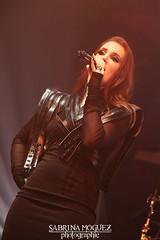 1 (*Hellbereth*) Tags: hellbereth sabrina moguez epica concert live show heavy metal holographic principle simone simons