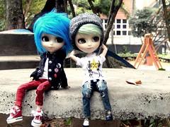Boys (Pliash) Tags: isul mao cute boys boy groove asian fashion dolls pullip punk