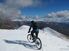 IMG_1534 (BiciNatura) Tags: bicinatura mountain bike mtb monte aspra all snow