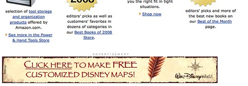disney ad on amazonpapyrus
