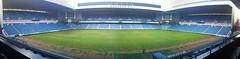 Ibrox Stadium, Panoramic (tcbuzz) Tags: park scotland football athletic fife stadiums glasgow east end rangers dunfermline ibrox stadia cletic
