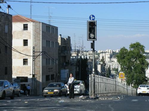 Riots - Meah Shearim - Jerusalem - Israel