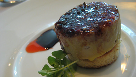 Foie Gras Brulee at Jean Georges
