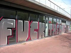 fuck the police (wojofoto) Tags: streetart holland amsterdam graffiti nederland netherland fuckthepolice wolfgangjosten wojofoto