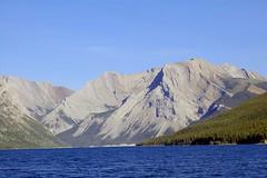 Fairholme Range above Lake Minnewanka (Chris Haley) Tags: banffnationalpark canadianrockies fairholme minnewanka