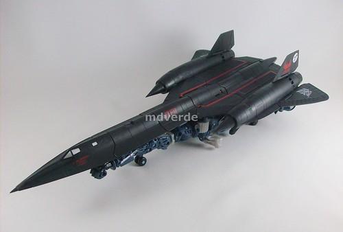 Transformers Jetfire RotF Leader - modo alterno