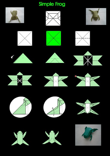 origami step by step diagrams 171 embroidery amp origami