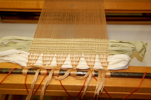Weaving in fabric