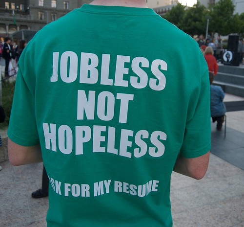 Jobless not hopeless, Ask for my resume by Steve Rhodes, on Flickr