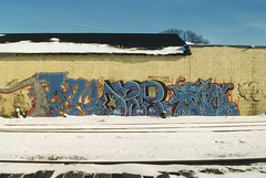 Poe Oze108 Rain (tyler24601) Tags: railroad snow cold rain minnesota train graffiti is tracks cities minneapolis twin mpls tc 1998 mn poe 1990s 90s 108 oze 612 kyt oze108 mnpls fukn