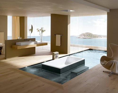 Fresh Inspirations of Bathroom Design from Kaldewei