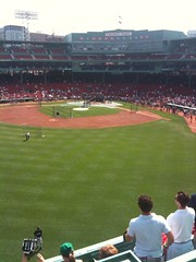 Atop the Green Monster