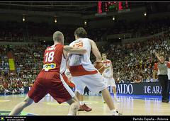 Partido España - Polonia (Berts @idar) Tags: españa basketball spain basket poland zaragoza polonia baloncesto ef24105mmf4lisusm espaa canoneos40d robertoruizherrera encanchacom giraeñemanía