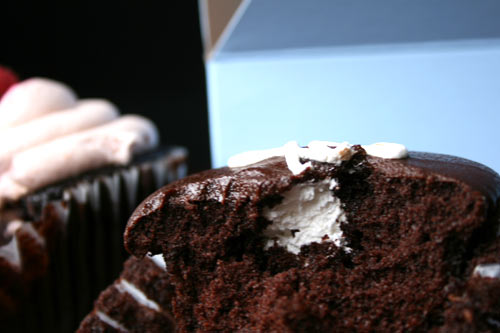 Yum Hostess Cupcake