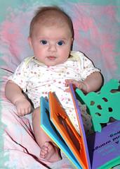 Littlest Bookworm (leesepea) Tags: sweetpea