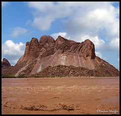 Listen to the River Flow ! (Bashar Shglila) Tags: sky mountains clouds river sudan gash taka overflow flows totil   kassala    bentaher algash  awitla