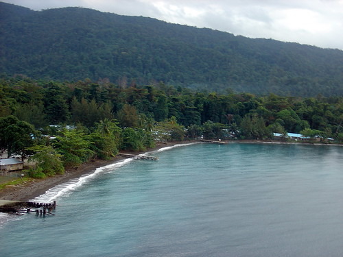 Coast of Halmahera Island