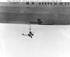USS Akron Airplane Release (lazzo51) Tags: aviation science usnavy blimps airships zeppelins luftschiff dirigibles ussakron zrs4