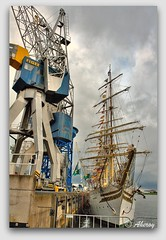 Delfsail,Delfzijl,Groningen,the Netherlands,Europe (Aheroy(2Busy)) Tags: city holland art netherlands dutch architecture fun town europe colours different harbour arts nederland surreal hallucination groningen tallship stad beautifull delfsail aheroy aheroyal topcso
