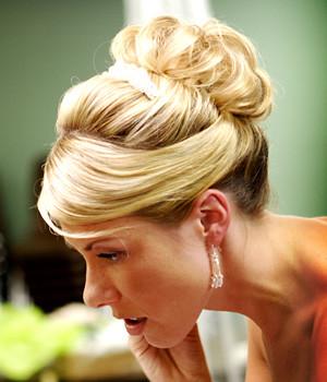 penteados com coques