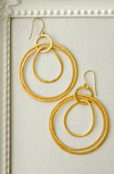 gilda gold hoop earrings