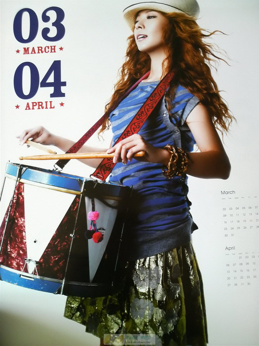 Korean Actress BoA Kwon Calendar 2009 Photos - beautiful girls