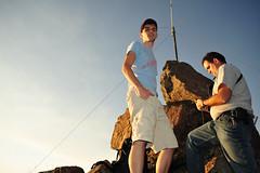 Guys (nateOne) Tags: mountain ski rock radio iso200 wasatch brighton marcus 28mm peak hike resort equipment brett packet schnivic f56 amateur antenna 28mmf28 wasatch100 flashfired 1320sec w100 nikond700 wf100