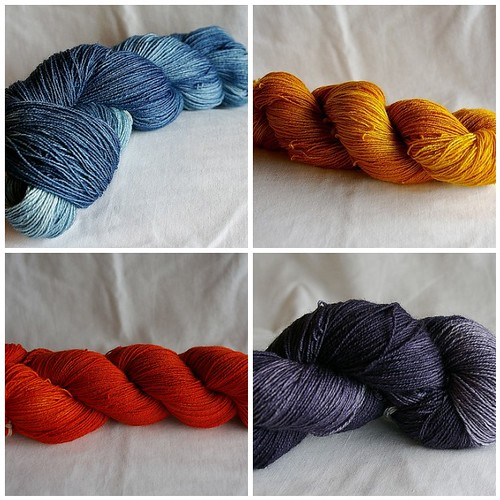 from the dye pot this week