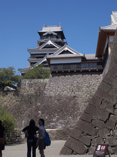 Kumamoto castle (熊本城)