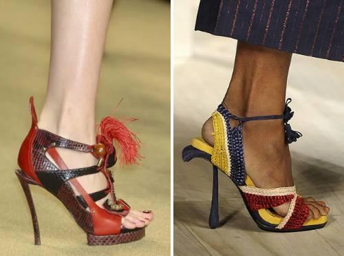fotos: calçados verão 2010