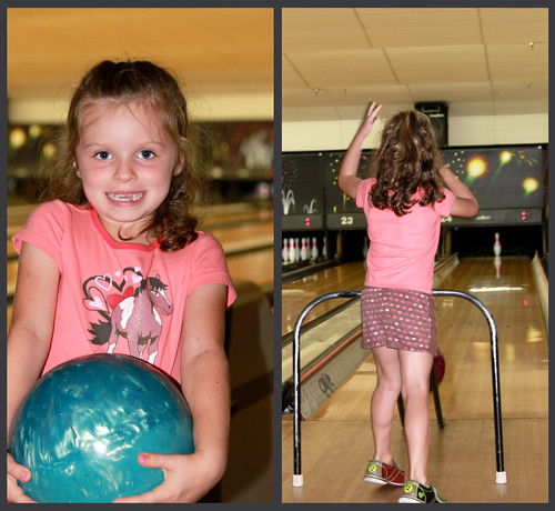 McKenna bowling
