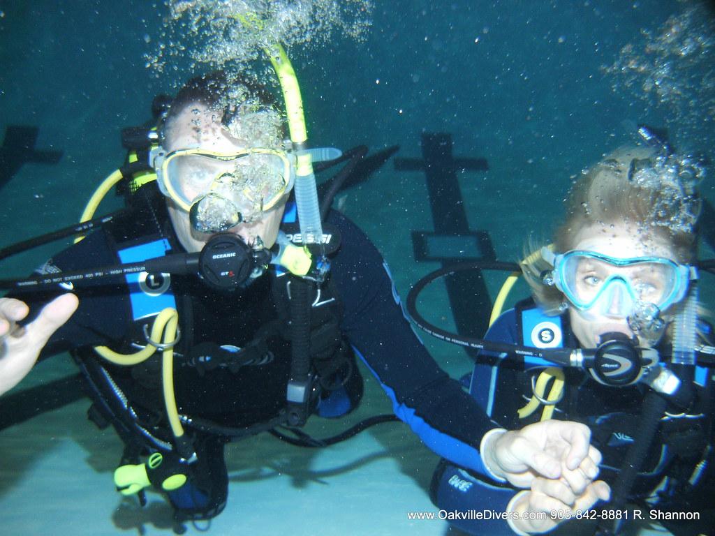Dive Couple Team Oakville Scuba