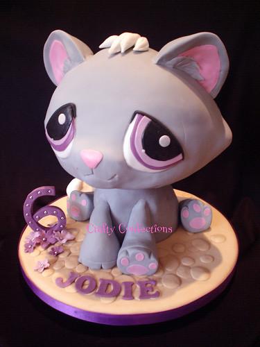 Stupendous Littlest Pet Shop Birthday Cake A Photo On Flickriver Funny Birthday Cards Online Alyptdamsfinfo