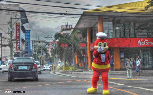 Jollibee mascot by dfc works, on Flickr