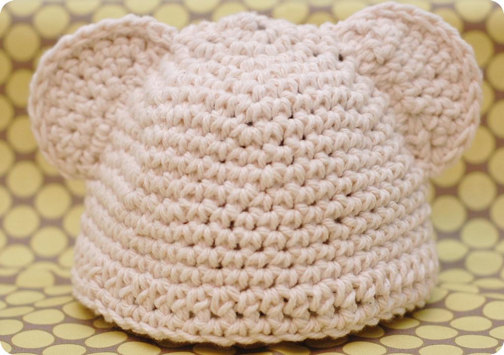 Preemie Baby Bear Hat