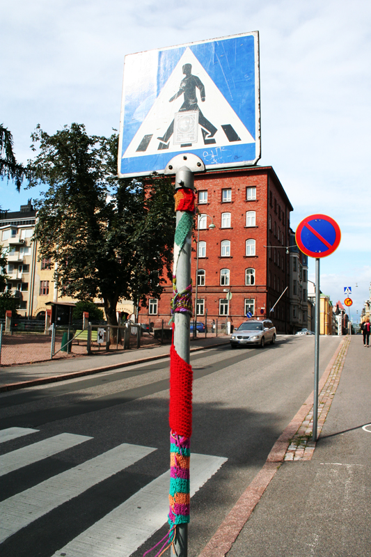 yarnbombing, 1
