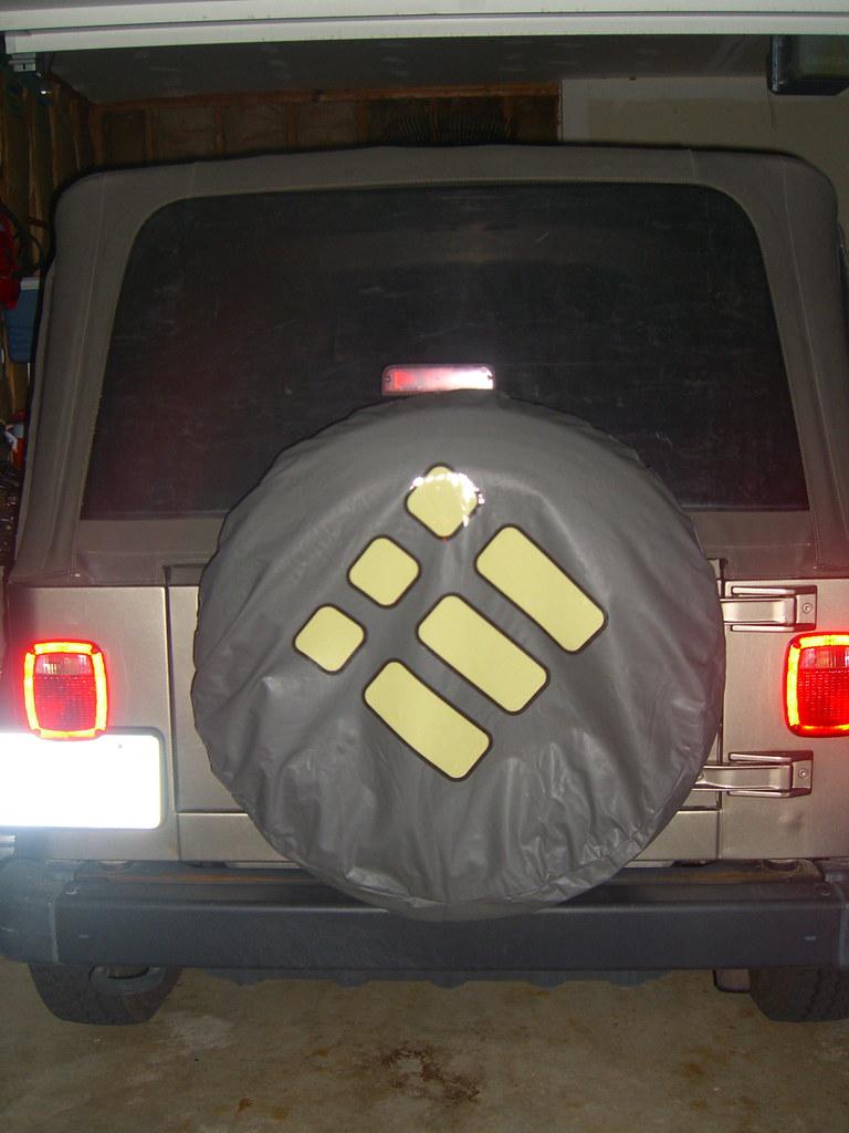 Orderedlist Spare Tire Cover