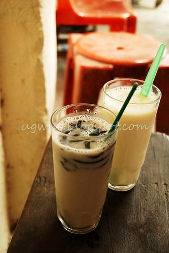 Soya Bean & Soya Bean with Grass Jelly