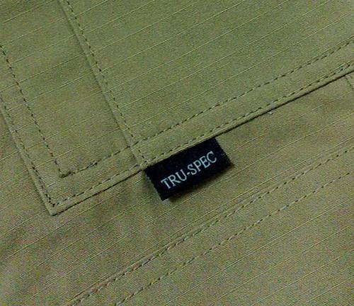 你拍攝的 主口袋下緣有TS標。
