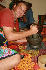 Grinding Chilli Paste