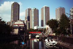 街並みの新旧景観