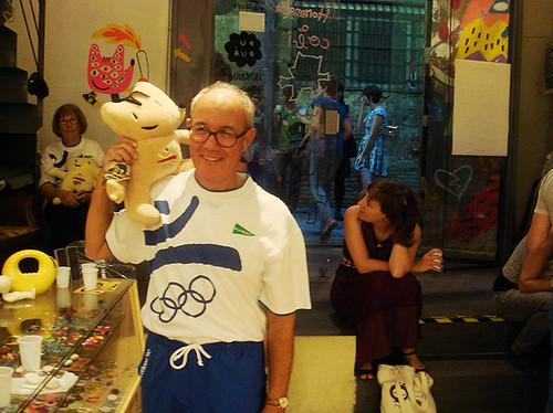 Antonio, ex voluntario olímpico