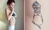 cupcake birdy tattoo cest moi. tattoo