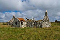 Old Abandoned House at Cladach, North Uist (www.bazpics.com) Tags: trip summer vacation holiday tourism landscape island islands scotland highlands scenery tour south north scottish otter isle westernisles uist benbecula outerhebrides bazpics barryoneilphotography
