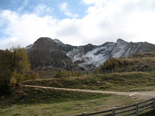 Blick auf den Gipfel des Hirzers (2.780 m)