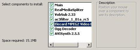 Instalação do EasyRealMedia Tools.