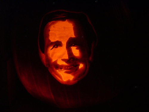 calabaza de George Bush