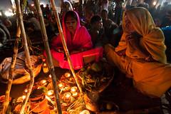 Chhath Puja (Ashish T) Tags: woman india men festival night canon lowlight women worship indian religion tokina mumbai hindu hinduism puja prayers 1224 chhath 40d socialaffairs ashishtibrewal