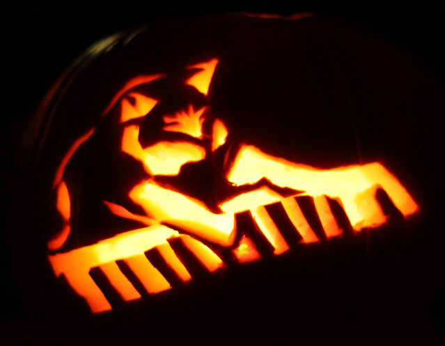 Keyboard Cat Pumpkin