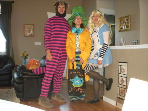 Cheshire Cat, Mad Hatter, Alice